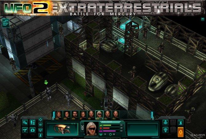 Скриншот игры UFO2Extraterrestrials: Battle for Mercury