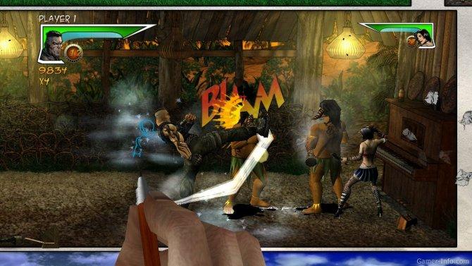 Скриншот игры Unbound Saga