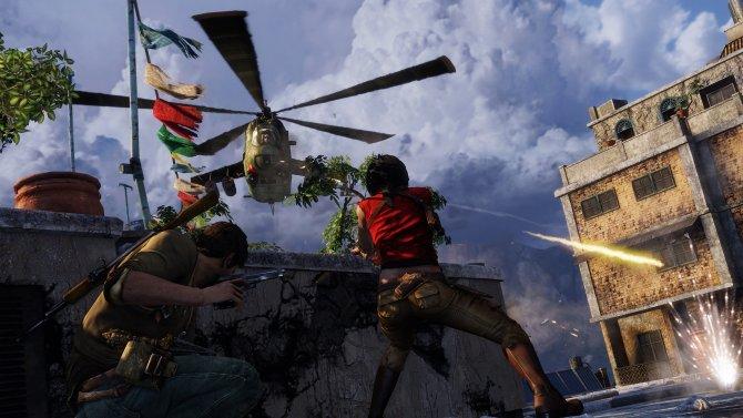 Скриншот игры Uncharted: The Nathan Drake Collection