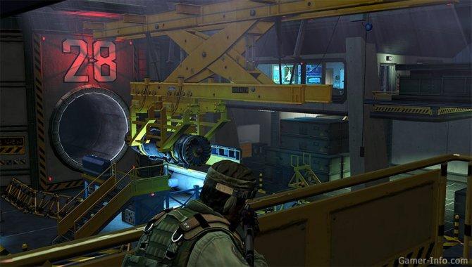 Скриншот игры Unit 13