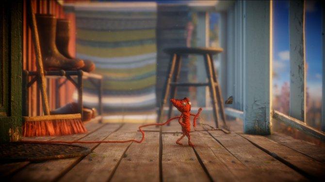 Скриншот игры Unravel