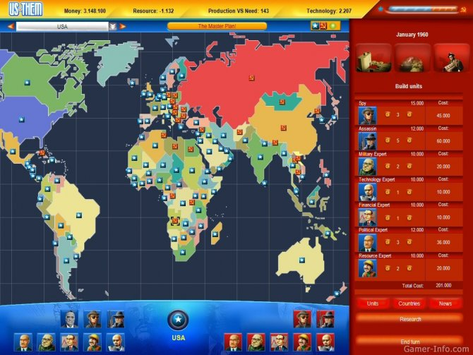Скриншот игры Us and Them: Cold War