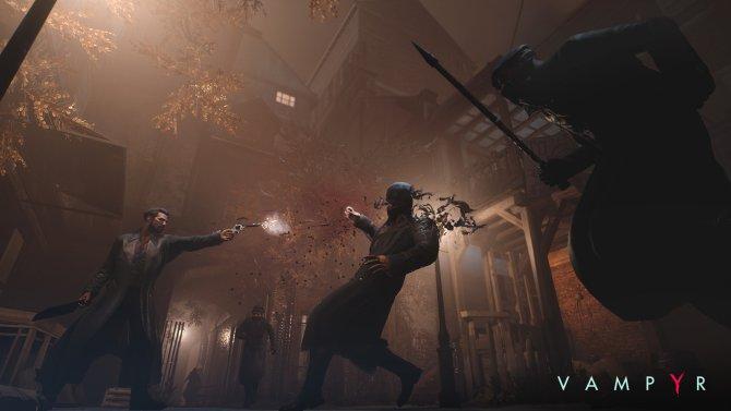 Скриншот игры Vampyr