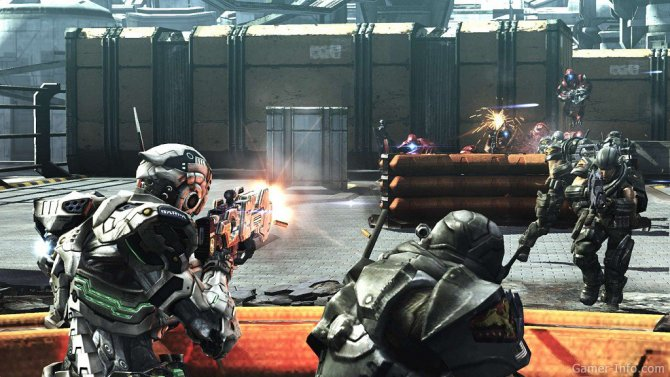 Скриншот игры Vanquish