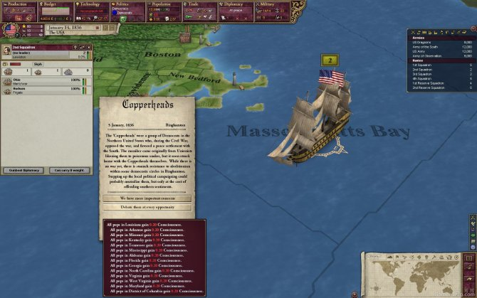 Скриншот игры Victoria II
