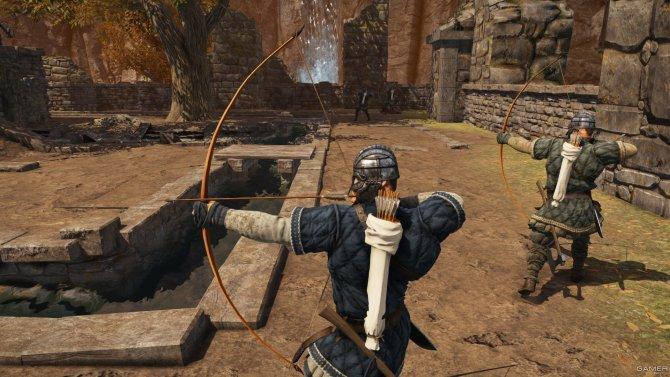 Скриншот игры War of the Vikings