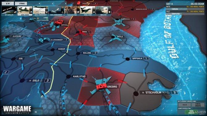 Скриншот игры Wargame: AirLand Battle