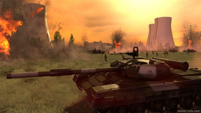 Скриншот игры Wargame: European Escalation