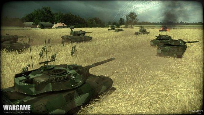 Скриншот игры Wargame: European Escalation