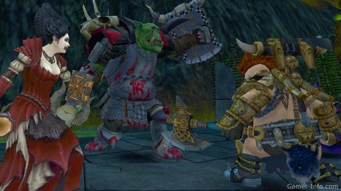 Скриншот игры Warhammer Online: Wrath of Heroes