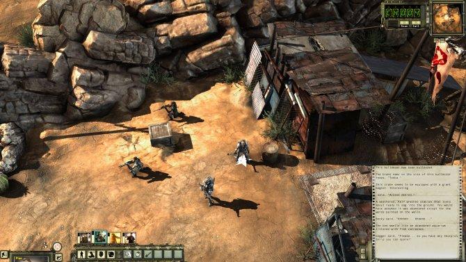 Скриншот игры Wasteland 2
