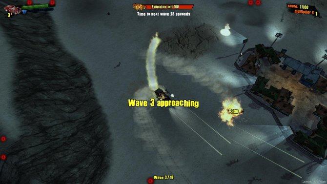 Скриншот игры Wasteland Angel