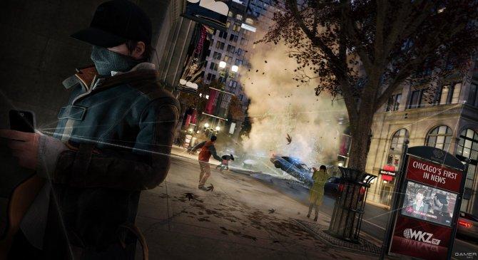 Скриншот игры Watch_Dogs