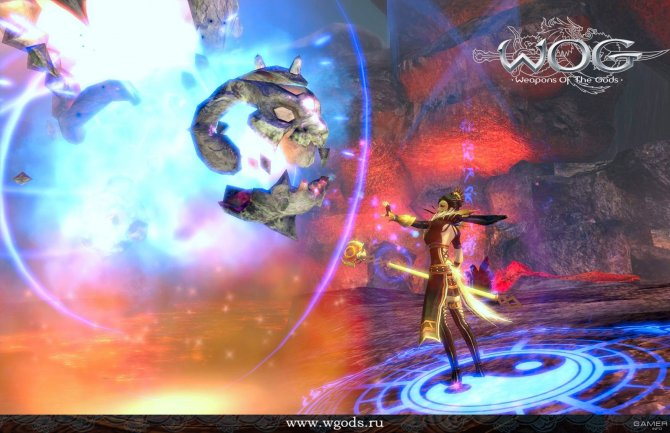 Скриншот игры Weapons of the Gods