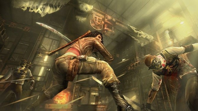Скриншот игры WET