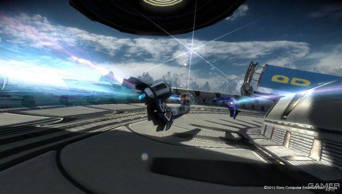 Скриншот игры WipEout 2048