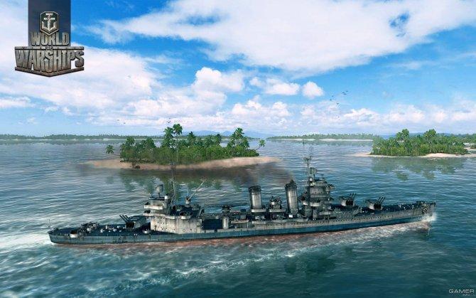 Скриншот игры World of Warships
