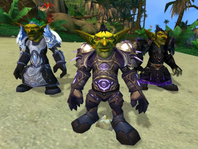 Скриншот игры World of Warcraft: Cataclysm