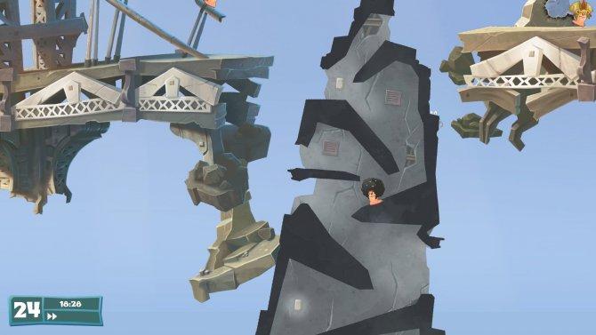 Скриншот игры Worms WMD