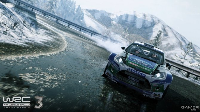 Скриншот игры WRC 3: FIA World Rally Championship