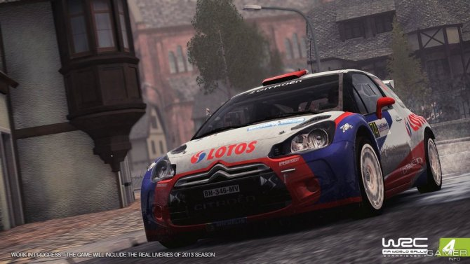 Скриншот игры WRC: FIA World Rally Championship 4