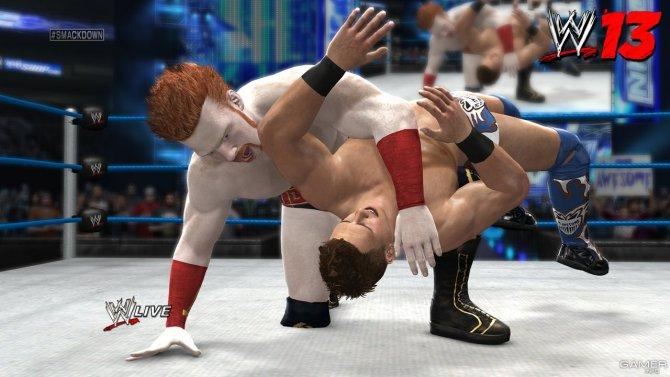 Скриншот игры WWE '13