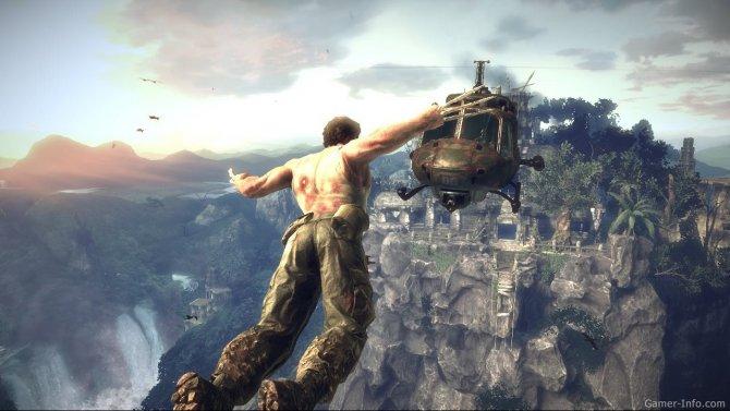 Скриншот игры X-Men Origins: Wolverine