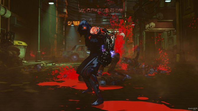 Скриншот игры Yaiba: Ninja Gaiden Z