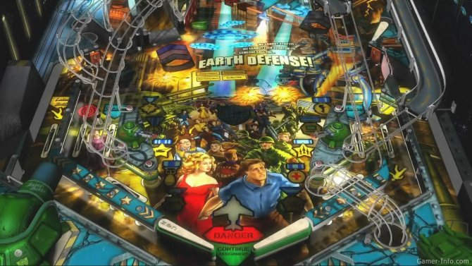 Скриншот игры Zen Pinball