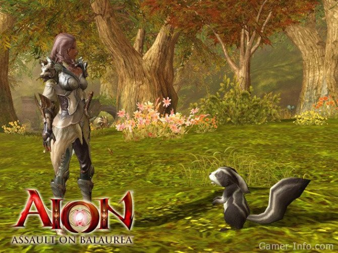 Скриншот игры Aion: The Tower of Eternity