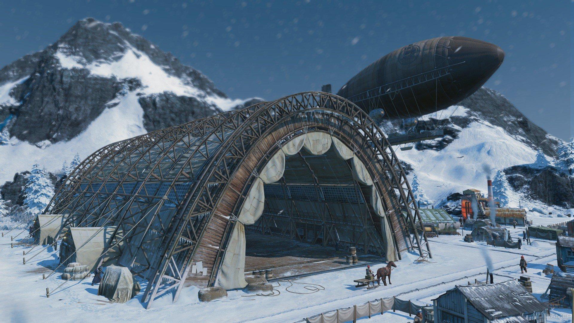 Представлено DLC «Во льдах» для Anno 1800