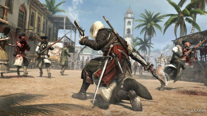 Скриншот игры Assassin's Creed 4: Black Flag