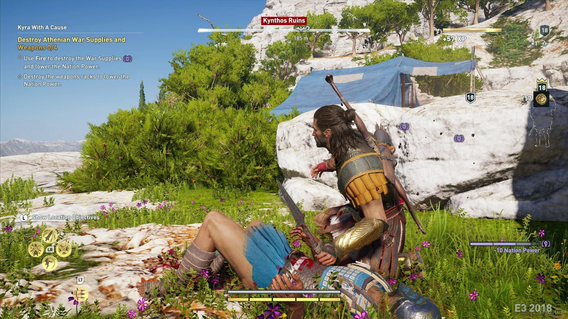 В сеть утекли скриншоты Assassin's Creed Odyssey