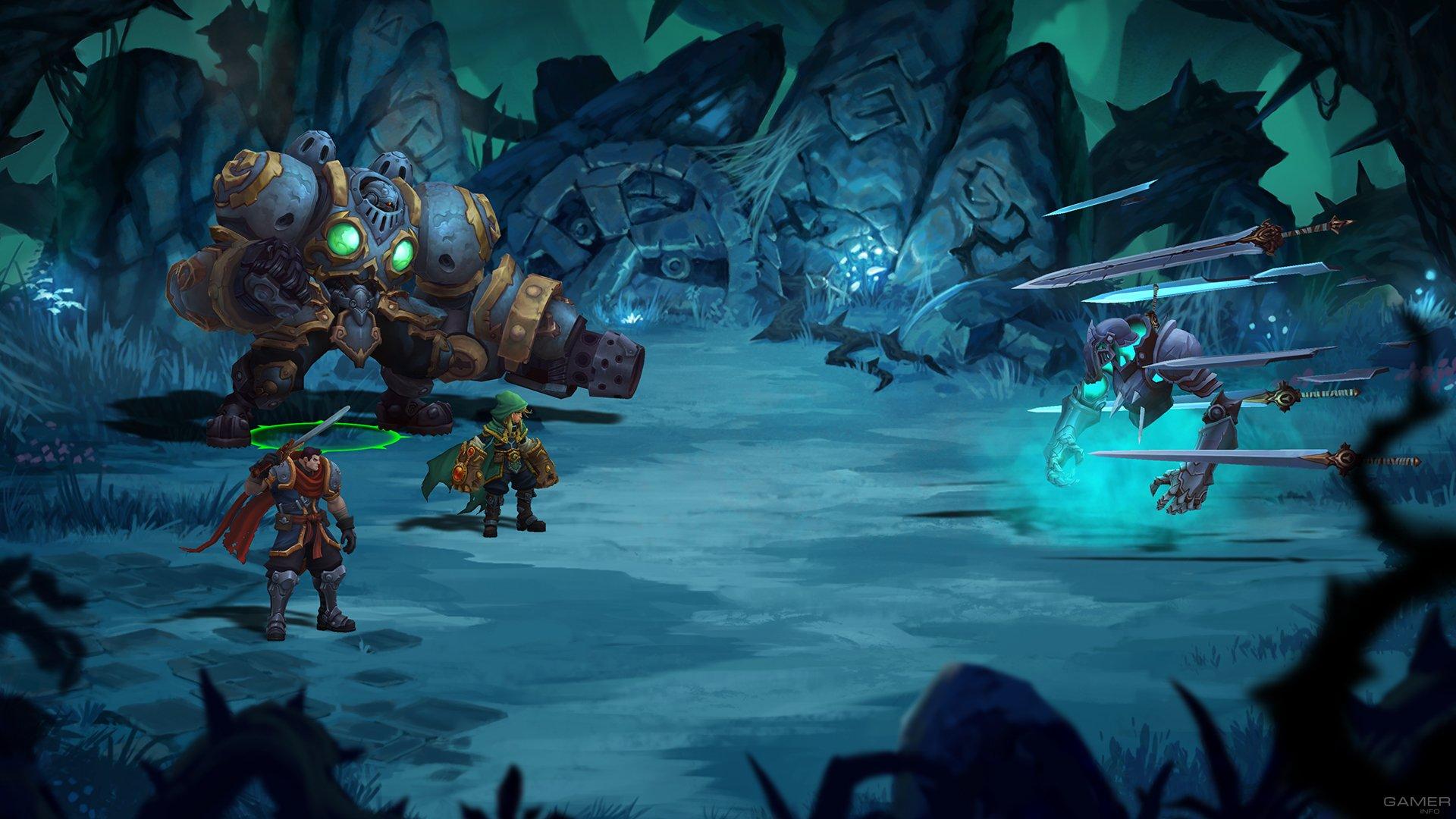 Обзор Battle Chasers: Nightwar