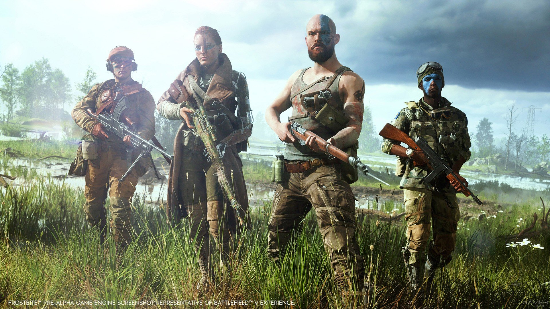 Дата открытого бета-теста Battlefield V