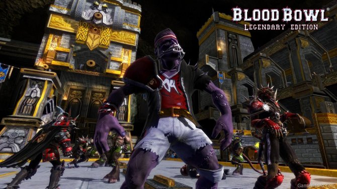 Скриншот игры Blood Bowl: Legendary Edition
