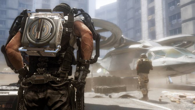 Скриншот игры Call of Duty: Advanced Warfare