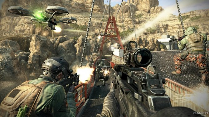 Скриншот игры Call of Duty: Black Ops II