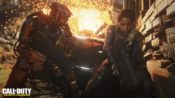 Скриншот игры Call of Duty: Infinite Warfare