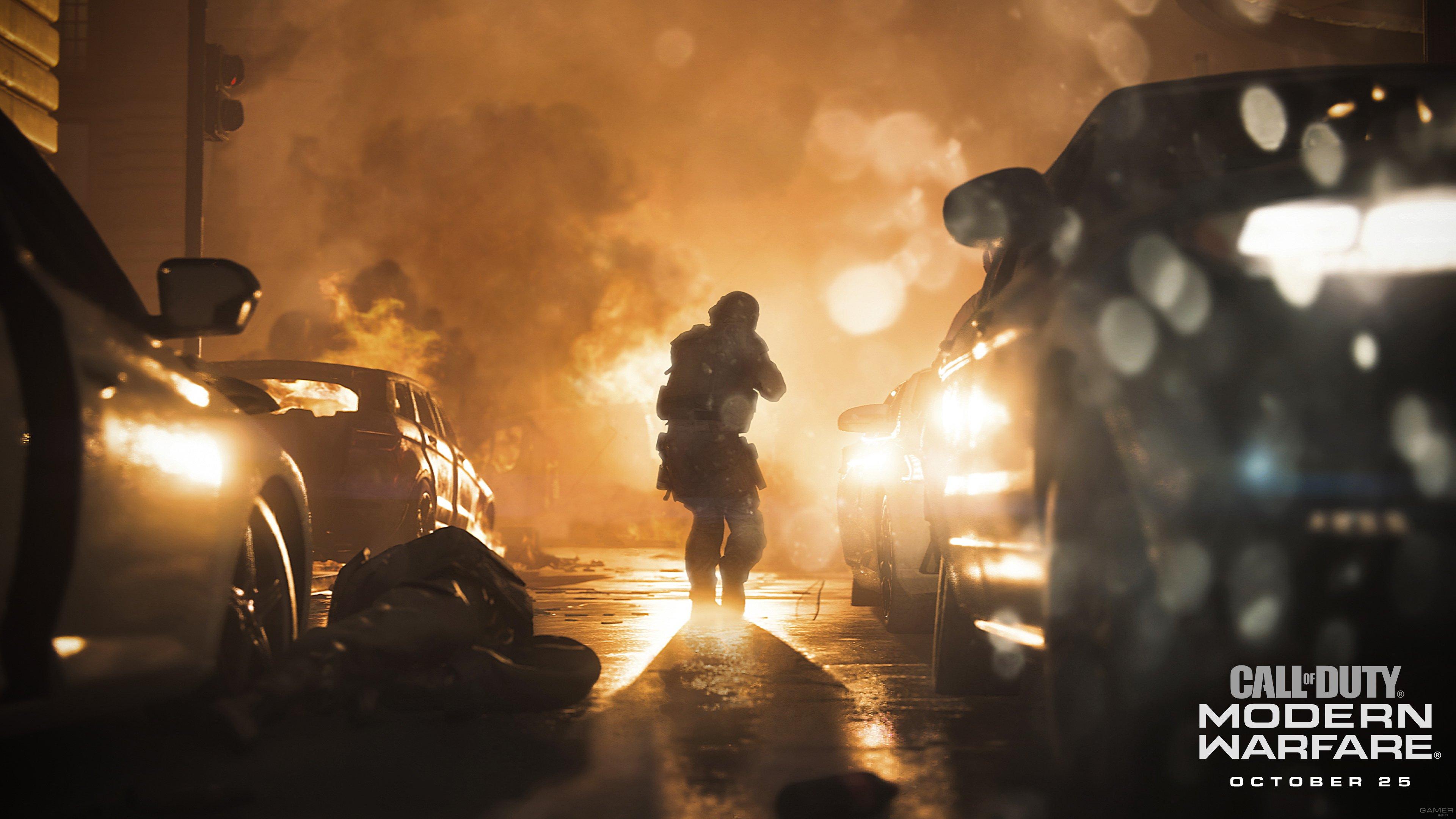 Системные требования Call of Duty: Modern Warfare