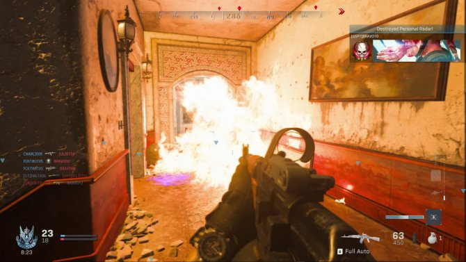 Скриншот игры Call of Duty: Modern Warfare