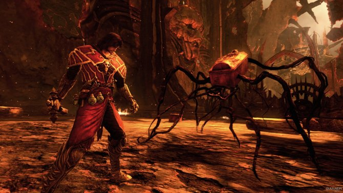 Скриншот игры Castlevania: Lords of Shadow