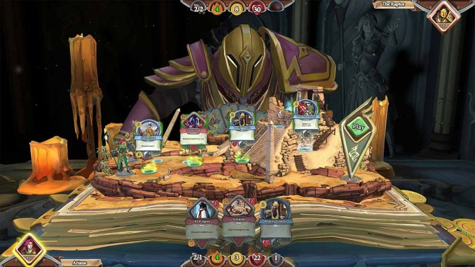 Скриншот игры Chronicle: RuneScape Legends