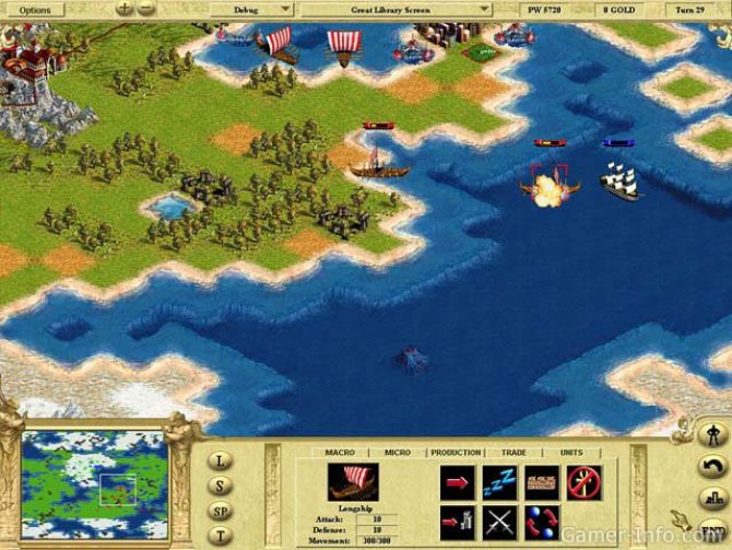 Скриншот игры Civilization: Call to Power