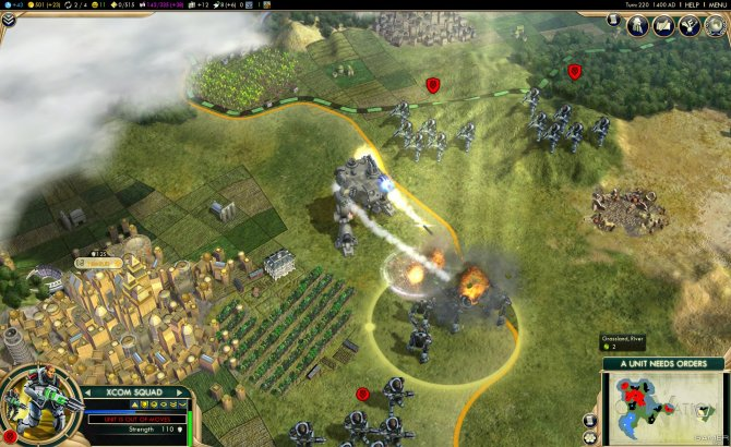 Скриншот игры Civilization V: Brave New World