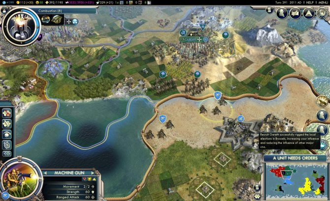 Скриншот игры Civilization V: Gods & Kings