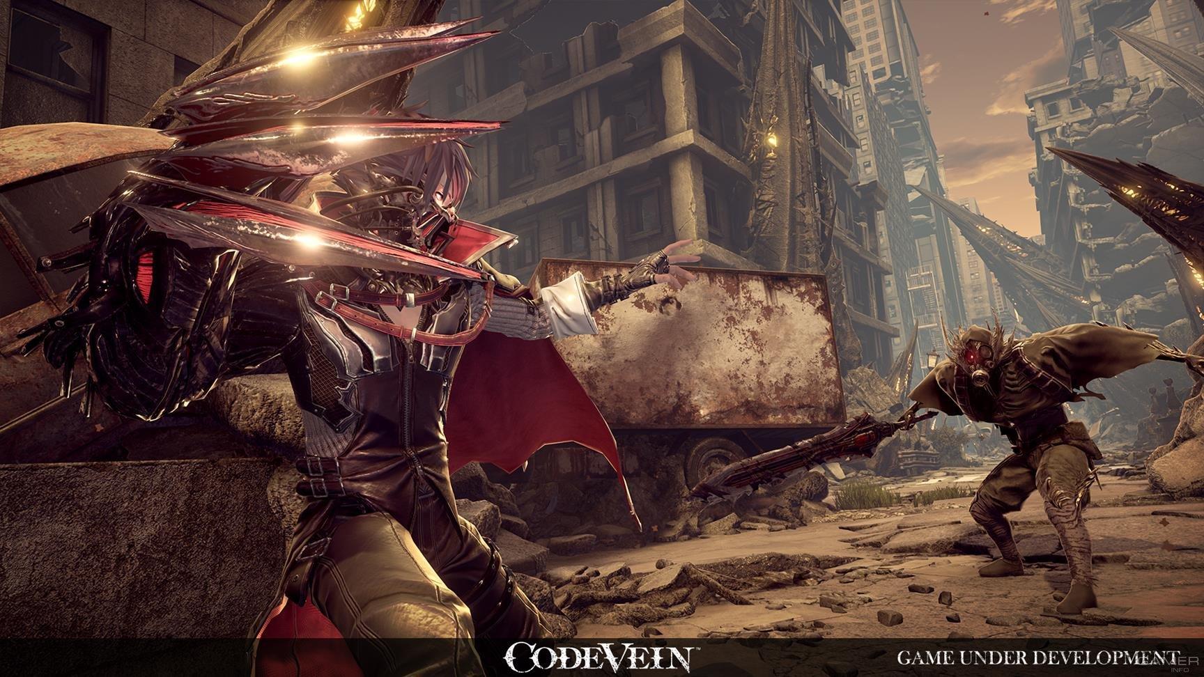 Состоялся официальный анонс нового проекта Bandai Namco — Code Vein
