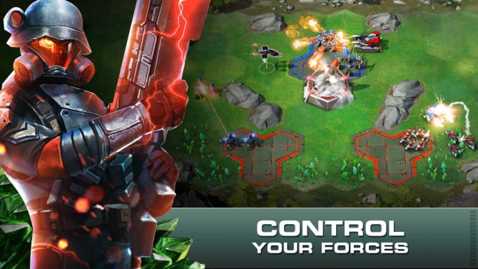 Скриншот игры Command and Conquer: Rivals