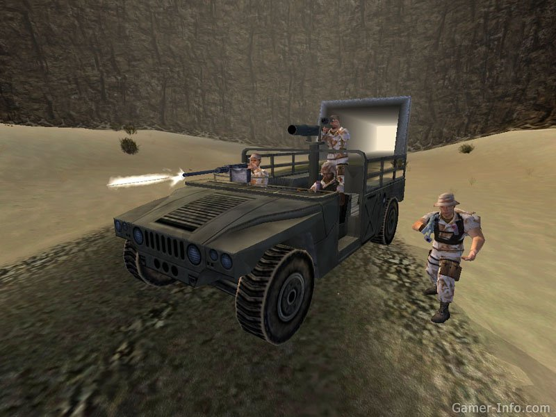 Conflict: desert storm ii: back to baghdad (конфликт: буря в.