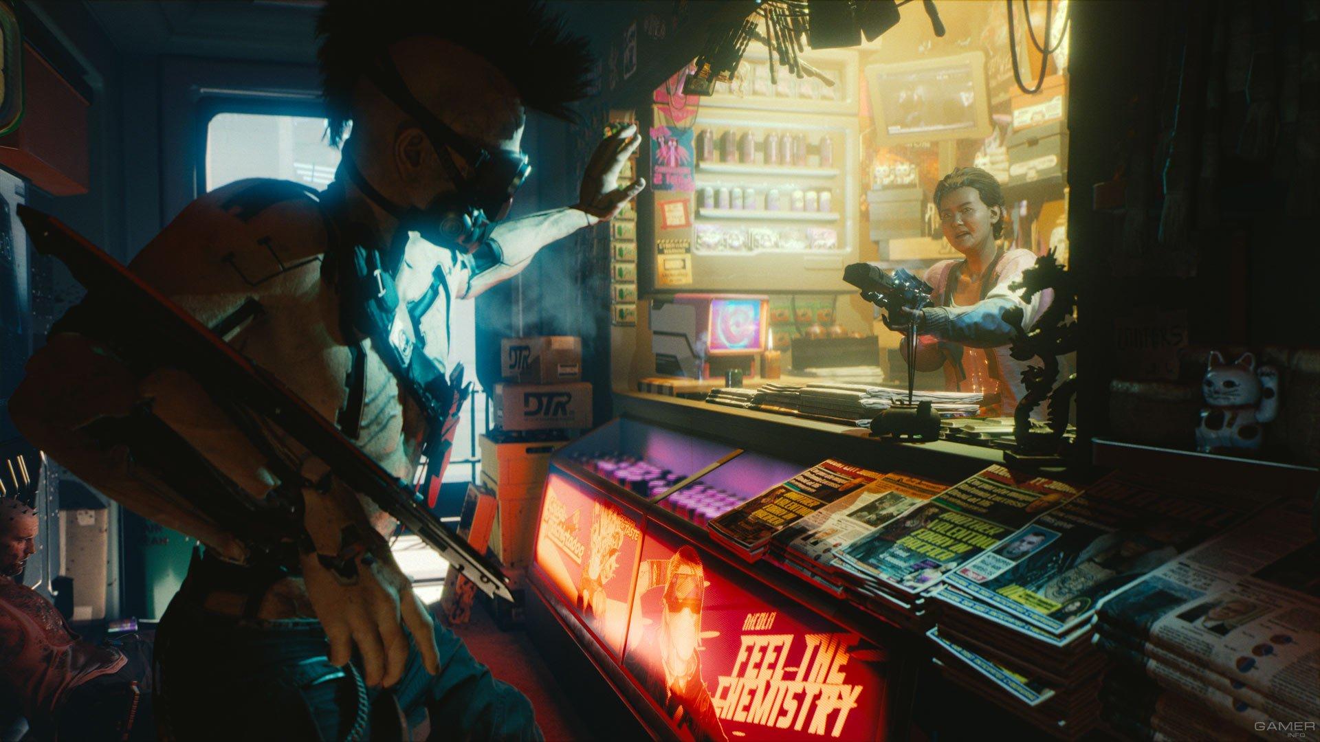 Немного подробностей о Cyberpunk 2077